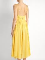 Loup Charmant Lucia cotton dress $359 back