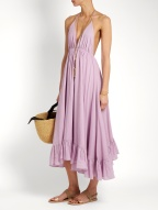 Loup Charmant Miami cotton dress $416 model