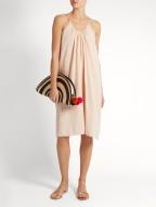 Loup Charmant Mini cotton dress $202 model