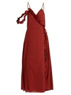 Loup Charmant Waterfall cotton dress $360