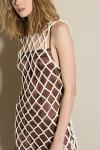 pari desai cream-net-crochet-dress 2