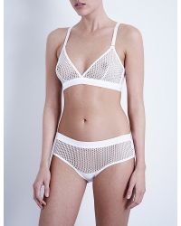 wolford-white-netsation-microfiber-net-brief and bra