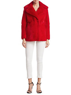 Alberta-Ferretti-Weekday-fur jacket-saturday front