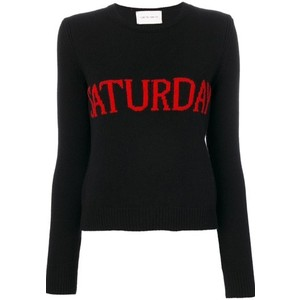 Alberta-Ferretti-Weekday-jumpers-saturday black