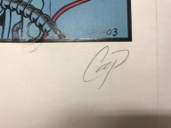 Coop Signed Rocket from the Crypt Serigrah Housing Works 3