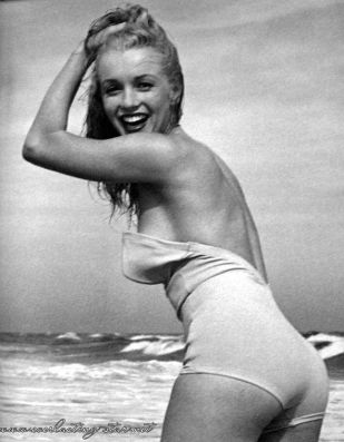 exuberance at the-beach-photos-classic-beauty Marilyn Monroe