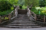 Shakespeare-Garden stairs central park