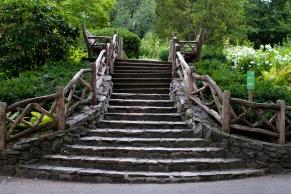 Shakespeare-Garden stairs central park