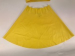 The Baroness Latex Skirt In CanaryYellow