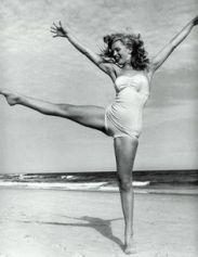 Vintage exuberance on the beach