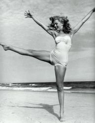 Vintage exuberance on the beach