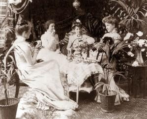 afternoon-tea Victorian
