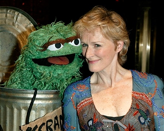 Glen Close and Oscar