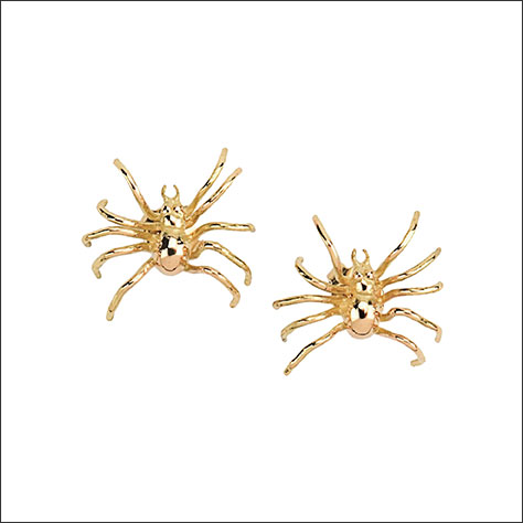 Aurélie Bidermann for Yoox Spider Earrings