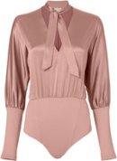 fleur-du-mal-rose-dolman-sleeve-bodysuit