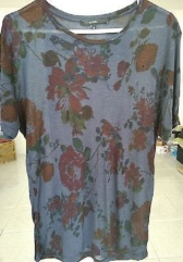 Gucci Floral Sheer Tee