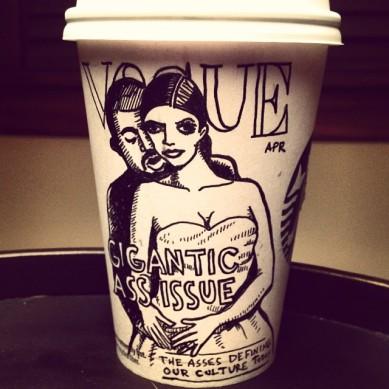 Josh Hara Kim coffee cup