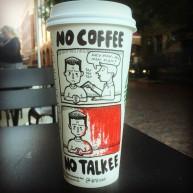 Josh Hara no coffee cup