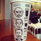 Josh Hara phases of coffee cup