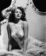 Rita Hayworth, by George Hurrell 1942 Negligee