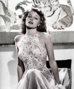 Rita Hayworth Floral top negligee