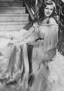Rita Hayworth flowing negligee