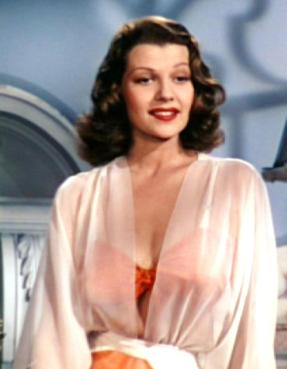 Rita Hayworth in Blood and Sand, 1941. Negligee