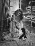 Rita Hayworth Life Negligee
