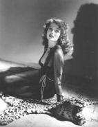 Rita Hayworth Louging Negligee