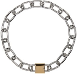 Alexander Wang Double Lock Chain Necklace $595