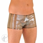 See thru Men's rubber boyshorts