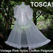 Tosca Pink peignoir