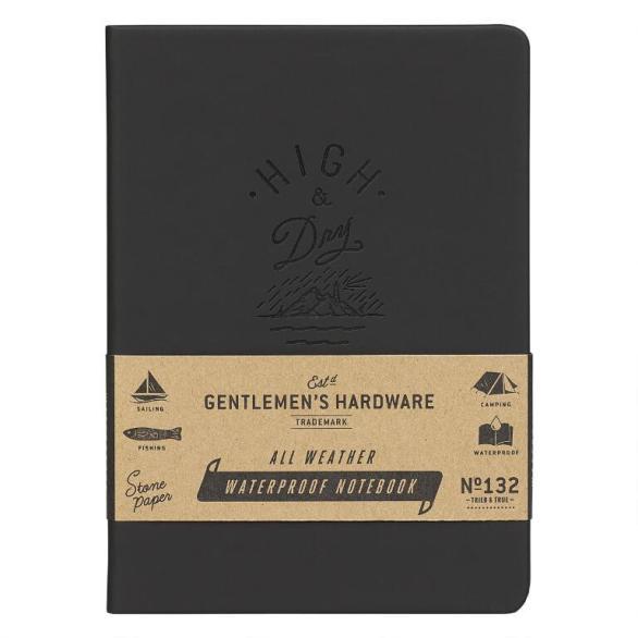 Bass Gentlemen's Hardware Waterproof Notebook