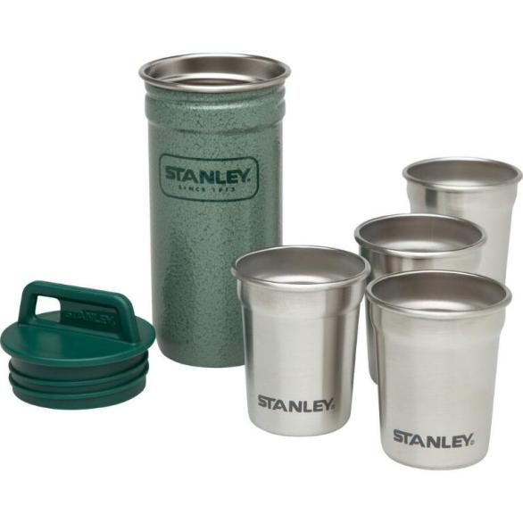 Bass Stanley Adventure Stainless Steel Shot Glasses $20