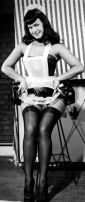 Bettie Paige French Maid