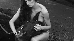 Calendar Horse riding trainer and model Kamila Szczawinska