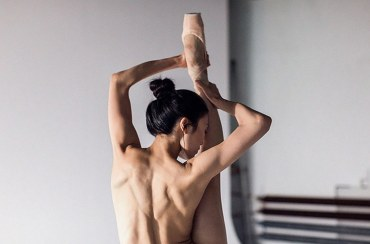 Calendar Japanese dancer Yuka Ebihara is a professional in the Polish national ballet 2