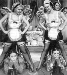 DIPLOMANIACS (1933 RKO) Starring Bert Wheeler, Robert Woolsey, French Maids