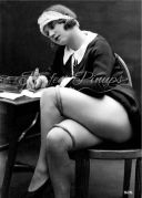 French Maid writing