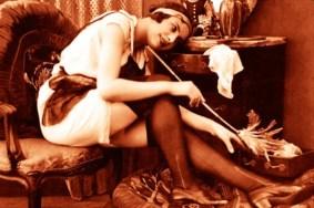 French Maid019 leg