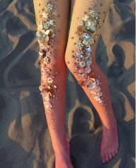 Lirika Matoshi Sunset Fishnet Tights