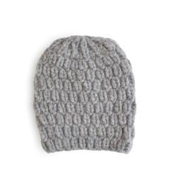 Lola Hats Hopscotch Alpaca-Blend Beanie Grey