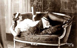 Maid Reading