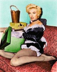 Marilyn Monroe French Maid