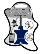 Nite Ize Curvy Man earphone holder $4 Eddie Bauer