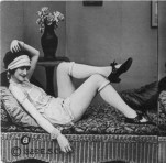 Rolled Stockings flapper