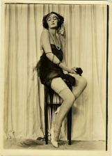 rolled stockings nude flapper-shoes-flapper-dresses