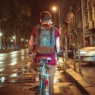 Uncommon Goods Turn Signal Commuter Backpack MoonRide $140