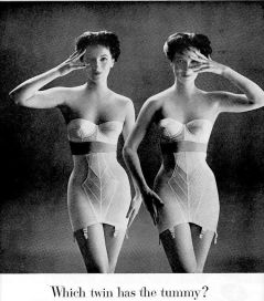 1947 twins vintage-girdle-lingerie-vintage