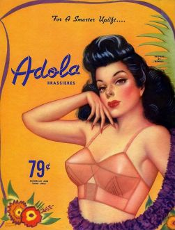 adola ad 1940's vintage-bra-vintage-lingerie